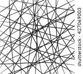 random thin crosswise lines... | Shutterstock .eps vector #427069003