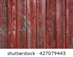 Horizontal Red Barn Board Wall...