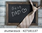 fathers day concept  best dad... | Shutterstock . vector #427181137