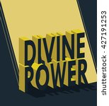 vector illustration of divine... | Shutterstock .eps vector #427191253