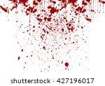 vector splatter painted detail... | Shutterstock .eps vector #427196017