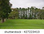 golf course | Shutterstock . vector #427223413