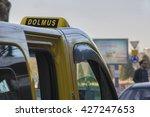 a typical turkish dolmus... | Shutterstock . vector #427247653
