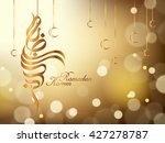 arabic calligraphy design of... | Shutterstock .eps vector #427278787