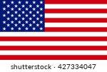 american flag | Shutterstock . vector #427334047