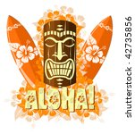 abstract,aloha,board,color,decor,decoration,decorative,design,element,floral,flower,graphic,hawaii,hawaiian,hibiscus