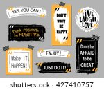 vector quote boxes collection....
