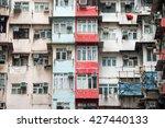 Blocks In Hongkong. One Of The...