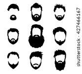 men's fashion  silhouette ... | Shutterstock .eps vector #427466167