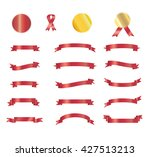 ribbon. christmas ribbon icon... | Shutterstock .eps vector #427513213