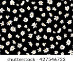 Daisy Floral Repeat Pattern...