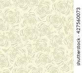 vector seamless floral pattern. ... | Shutterstock .eps vector #427560073