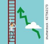 businessman design. success...   Shutterstock .eps vector #427562173