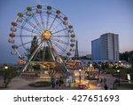 golden sands  bulgaria   may 21 ... | Shutterstock . vector #427651693