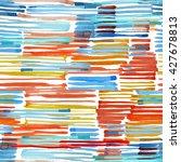 watercolor seamless pattern....   Shutterstock . vector #427678813