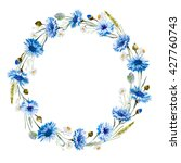Watercolor Floral Wreath...
