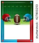 an american football party...   Shutterstock .eps vector #427803253