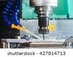 milling metalworking process.... | Shutterstock . vector #427814713