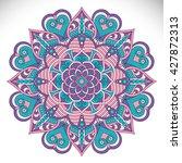 mandala  vector mandala  floral ...   Shutterstock .eps vector #427872313