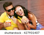 close up lifestyle portrait of... | Shutterstock . vector #427931407