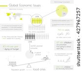 infographic showing global... | Shutterstock .eps vector #427967257