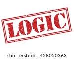 logic stamp | Shutterstock . vector #428050363