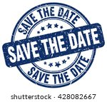save the date. stamp | Shutterstock .eps vector #428082667