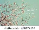 inspirational typographic quote ... | Shutterstock . vector #428127133