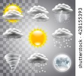 weather icons detailed photo...