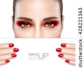 Beauty Makeup And Nail Art...