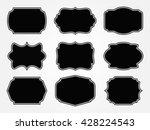 vintage label.decorative frame... | Shutterstock .eps vector #428224543