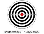 target shooting gun sport rifle ...   Shutterstock .eps vector #428225023