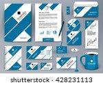 professional universal branding ... | Shutterstock .eps vector #428231113
