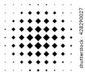 vector halftone squares for... | Shutterstock .eps vector #428290027