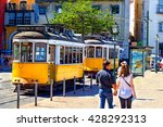 lisbon  portugal   may 3rd ... | Shutterstock . vector #428292313