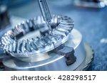 metalworking cnc milling... | Shutterstock . vector #428298517