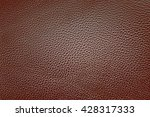 brown leather textured... | Shutterstock . vector #428317333