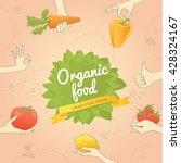 vegan poster | Shutterstock .eps vector #428324167