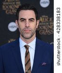 "Small photo of LOS ANGELES - MAY 23: Sacha Baron Cohen arrives to the ""Alice Through The Looking Glass"" American Premiere on May 23, 2016 in Hollywood, CA."