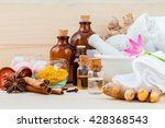 natural spa ingredients... | Shutterstock . vector #428368543