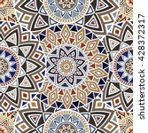 Seamless Ethnic Pattern With...