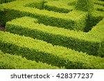 parterre hedges | Shutterstock . vector #428377237