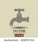 tap icon vector symbol flat eps ...   Shutterstock .eps vector #428391763