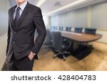 business  people and office... | Shutterstock . vector #428404783