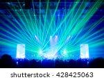 blurred background bokeh... | Shutterstock . vector #428425063