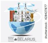 republic of belarus landmark... | Shutterstock .eps vector #428427877