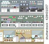 laboratory vector illustration
