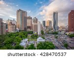 skyline of taichung city  taiwan | Shutterstock . vector #428470537