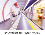 metro train passing by in ... | Shutterstock . vector #428479783