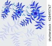 invitation or wedding card... | Shutterstock .eps vector #428495767